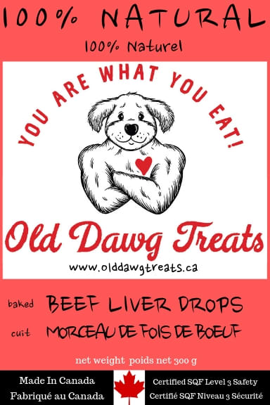 Old Dawg Beef Liver Dog Treats