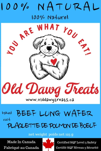 Old Dawg Beef Lung Dog Treat