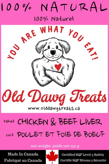 Old Dawg Chicken And Beef Liver Dog Treats
